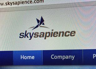 עיצוב לוגו sky sapience