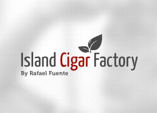 עיצוב לוגו island cigar factory