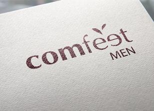 עיצוב לוגו מותג גרביים comfeet