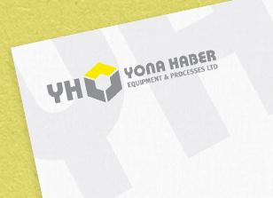עיצוב לוגו, נייר מכתבים, כרטיס ביקור ומעטפה ליונה הבר
